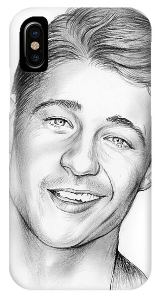 Ben iPhone Case - Young Ben Mckenzie by Greg Joens