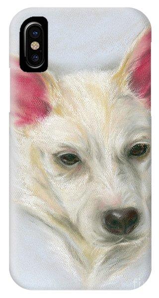 Young Carolina Dog Portrait 2 IPhone Case