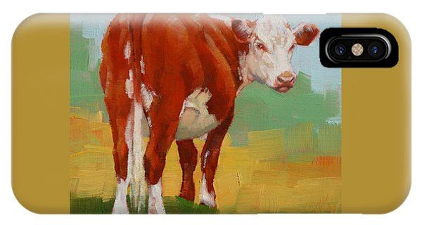 Young Cow IPhone Case