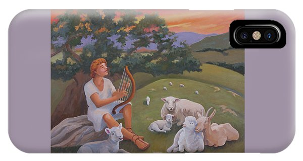 Young David As A Shepherd IPhone Case