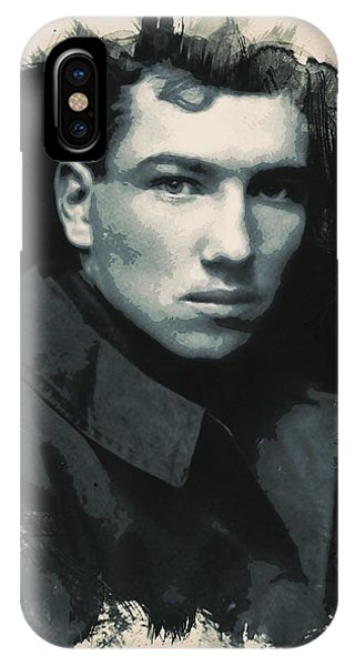 Young Faces From The Past Series By Adam Asar, No 33 IPhone Case