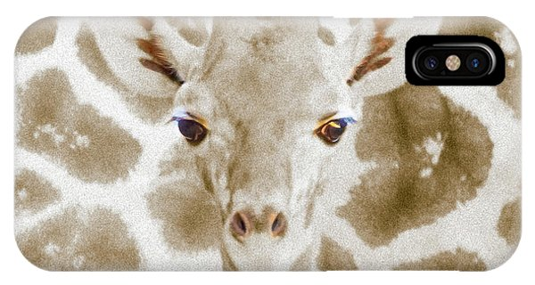 Young Giraffe IPhone Case