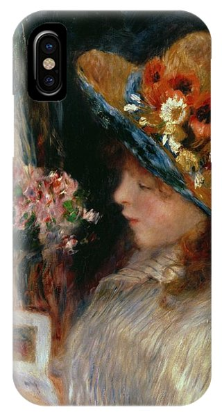 Youthful iPhone Case - Young Girl Reading by Pierre Auguste Renoir