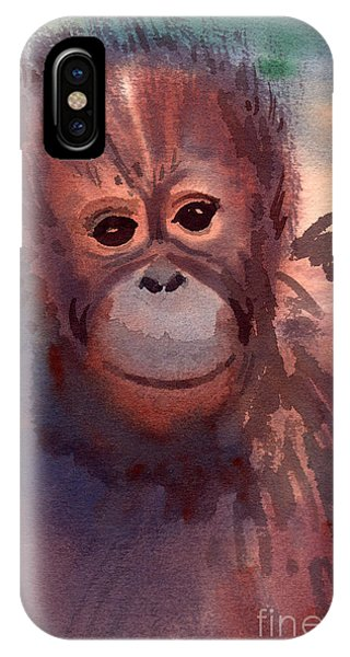 Young Orangutan IPhone Case