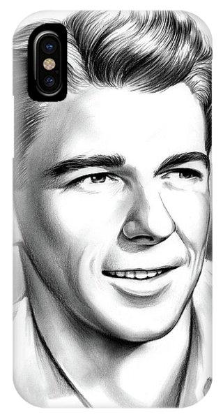Young Reagan IPhone Case