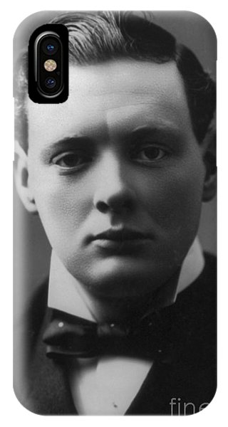 Nobel iPhone Case - Young Winston Churchill by English School