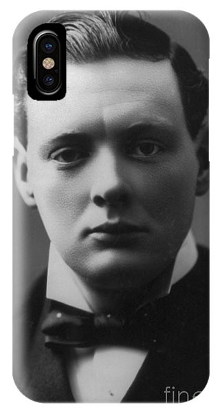 Prime Minister iPhone Case - Young Winston Churchill by English School