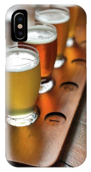 Your Choice Of Four Draft Beers From Phone Case by Arya Swadharma