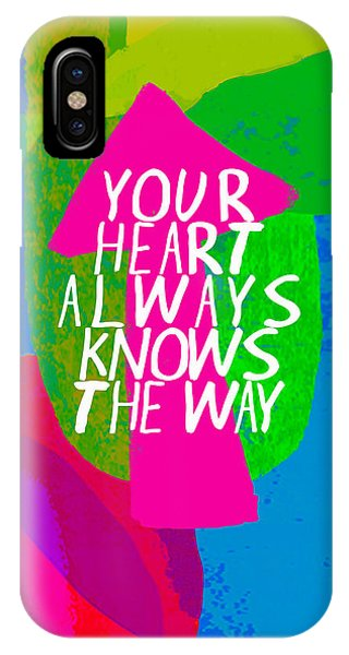 Your Heart Always Knows The Way IPhone Case
