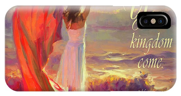 Christianity iPhone Case - Your Kingdom Come by Steve Henderson