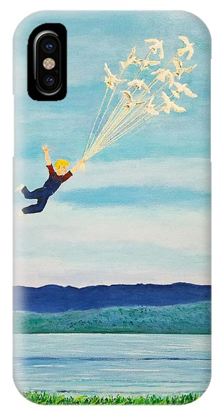 Youth Is Fleeting IPhone Case
