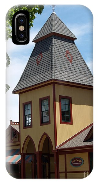 Youth Temple Of Ocean Grove New Jersey IPhone Case