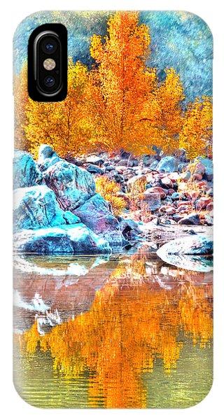 Yuba River Reflection IPhone Case