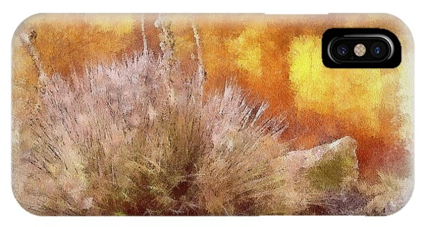 Yucca And Adobe In Aquarelle IPhone Case