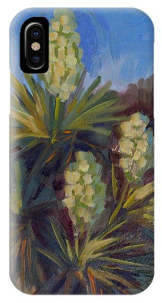 Yucca At Joshua Tree IPhone Case