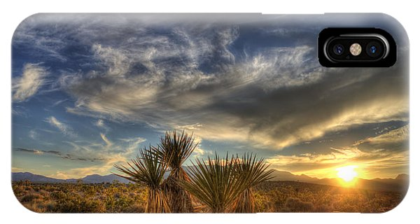 Yucca Sunset IPhone Case