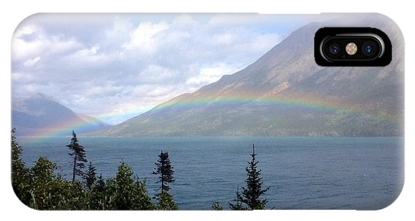 Yukon Rainbow IPhone Case