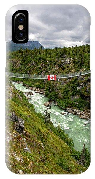 Yukon Suspension Bridge IPhone Case