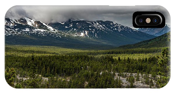 Yukon Wilderness IPhone Case