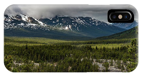 Yukon Wilderness IPhone Case