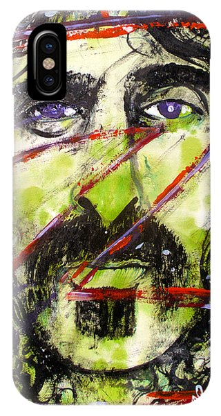 Frank Zappa iPhone Case - Z Is For Zappa by Sam Hane
