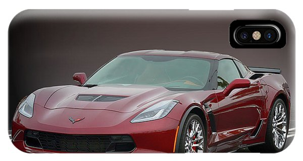 Z06 Vette At Cbad IPhone Case