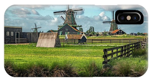 Zaanse Schans And Farm IPhone Case