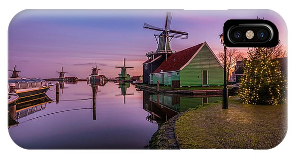 Zaanse Schans Holiday  IPhone Case