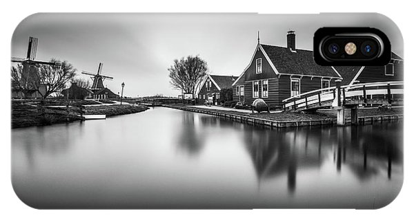 Zaanse Schans IPhone Case