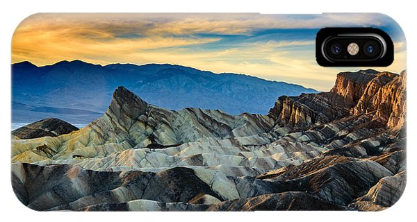 Zabriskie Point At Sundown IPhone Case