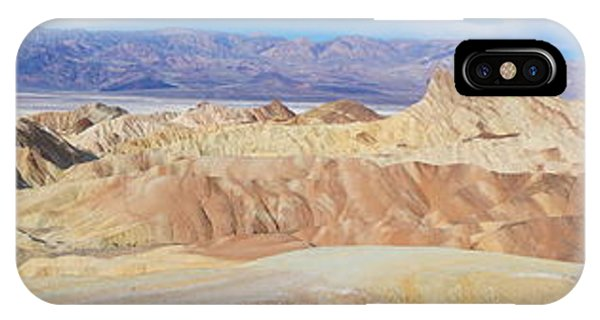 Zabriski Point Panoramic IPhone Case
