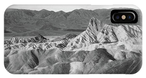 Zabriskie Point Landscape IPhone Case