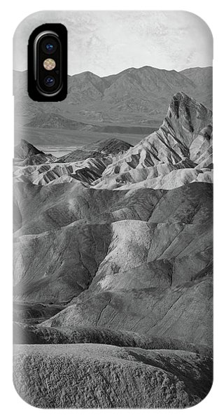 Zabriskie Point Portrait IPhone Case
