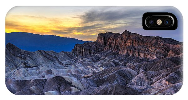 iPhone Case - Zabriskie Point Sunset by Charles Dobbs