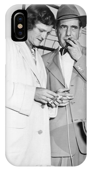 Zaharias And Bogart IPhone Case