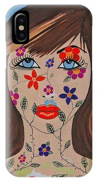 Zahir - Contemporary Woman Art IPhone Case