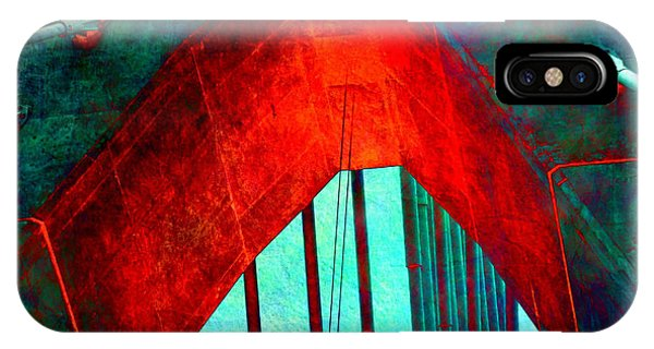 Zakim Bridge iPhone Case - Zakim Bridge Boston V5 by Brandi Fitzgerald