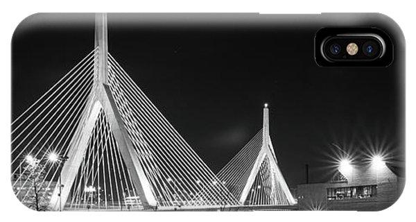 Zakim Bridge From Lovejoy Wharf IPhone Case