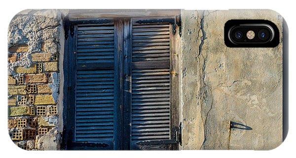Zakynthos Town Window IPhone Case