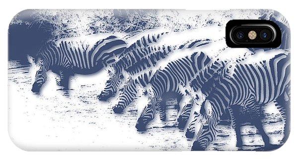 Zebra iPhone Case - Zebra 3 by Joe Hamilton