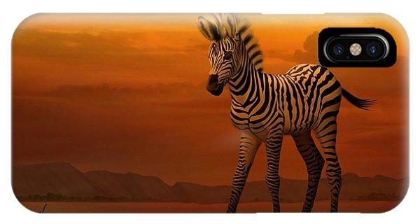 Zebra Fawn  IPhone Case