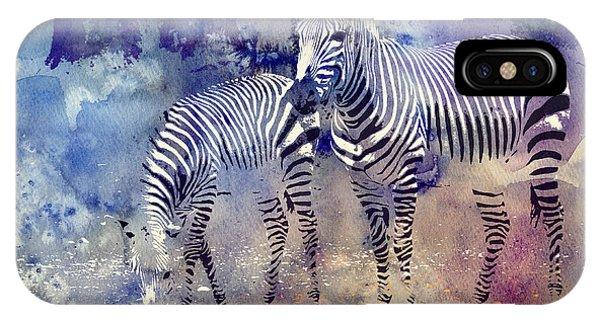 Zebra Paradise IPhone Case