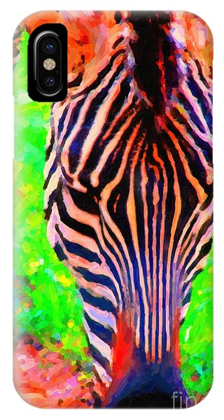 Zebra . Photoart IPhone Case