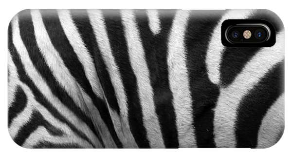 Zebra Stripes Phone Case by George Jones