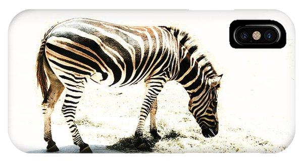 Zebra Stripes IPhone Case