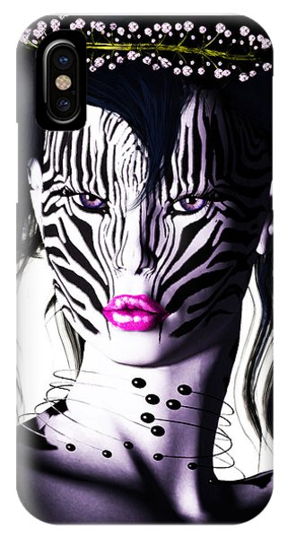 Zeeebra IPhone Case