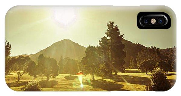 Zeehan Golf Course IPhone Case