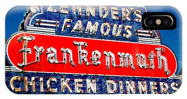 Zehnder's Frankenmuth Michigan IPhone Case