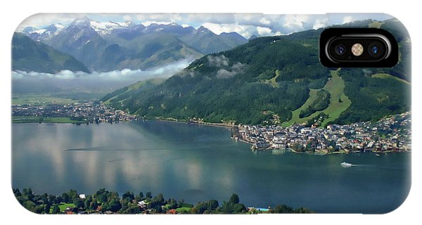 Zell Am See Panorama IPhone Case