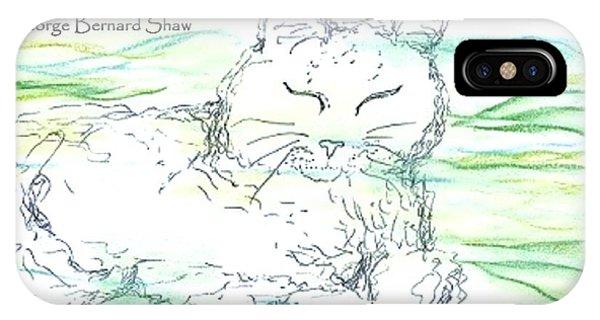 Zen Cat IPhone Case